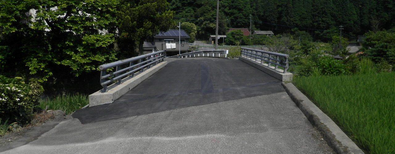 打越橋補修工事完成写真