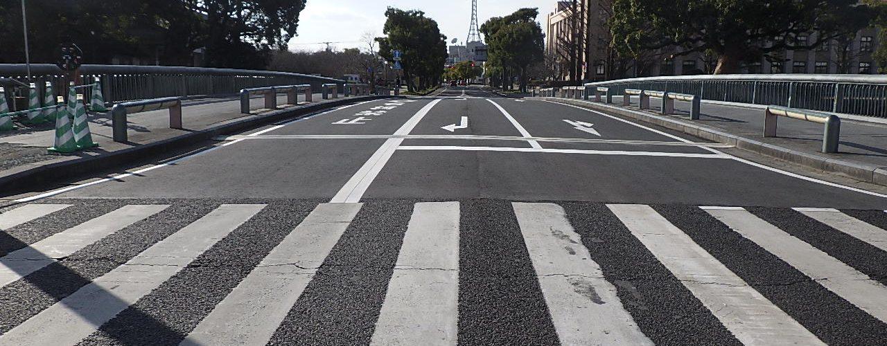 くすの栄橋補修工事完成写真